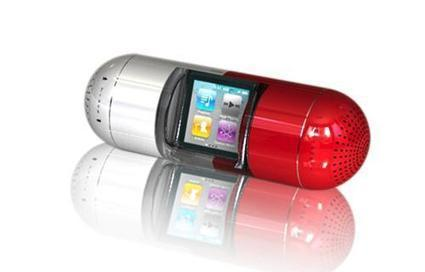 Gavio's The Pill speaker system is designed for the iPod nano | Technology and Gadgets | Scoop.it