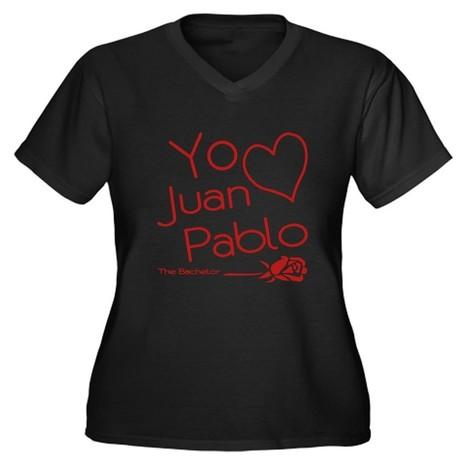 Yo Amo Juan Pablo Women's Plus Size V-Neck Dark T- on CafePress.com | CafePress Designs Via Flamin Cat Designs And Friends | Scoop.it