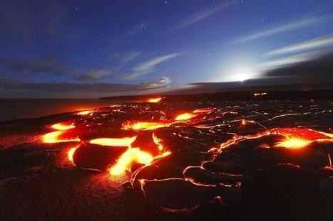 Where to watch Kilauea's lava flow hit the ocean on Hawaii Island | ❀ hawaiibuzz ❀ | Scoop.it