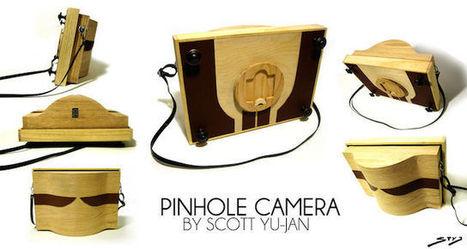 A Gorgeous Wooden DIY Pinhole Camera that Carpenters and Photographers Alike Can be Proud Of | L'actualité de l'argentique | Scoop.it