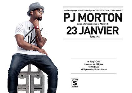 Ils vont assister au showcase privé de PJ Morton à Paris | Rap , RNB , culture urbaine et buzz | Scoop.it