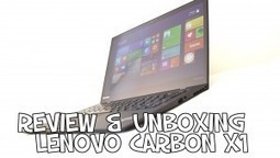 Review & Unboxing Lenovo ThinkPad X1 Carbon | PgunMan | NoPad | Scoop.it