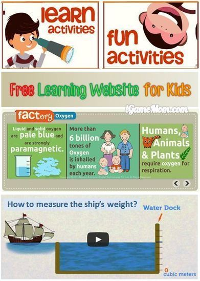 Free Learning Website for Kids - mocomi | iGameMom | Edtech PK-12 | Scoop.it