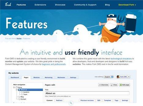 Fork – Un compacto sistema de gestión de contenido para sitios web | CMS Tools | Scoop.it