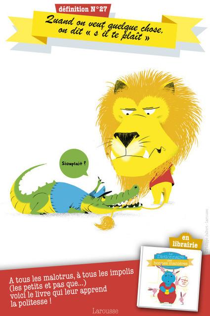 Le dictionnaire des bonnes manières | FLE enfants | Scoop.it