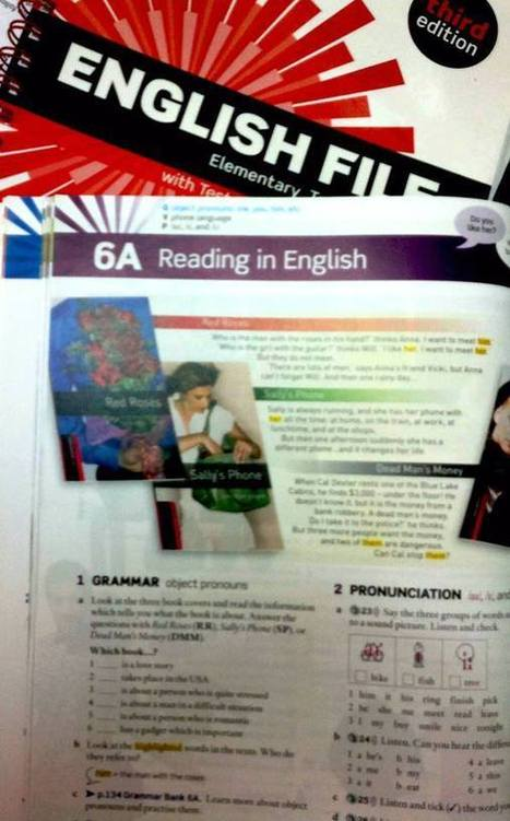Sally's Phone | English Teacher's Digest | Scoop.it