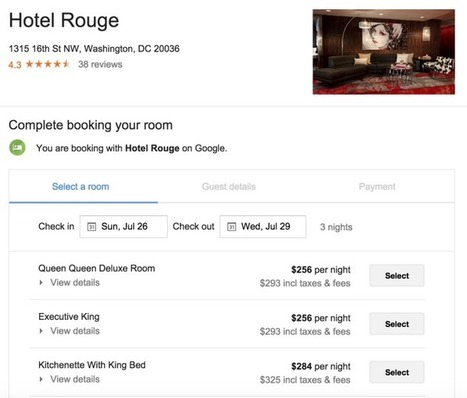 Google si prepara a farti prenotare una struttura ricettiva direttamente da Hotel Finder senza intermediazioni | Fotografia news | Scoop.it