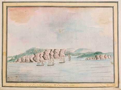 Journals of the First Fleet | State Library of New South Wales | Contact History | Scoop.it