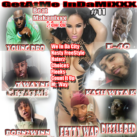 "GetAtMe InDaMixxx ft Young Dro and Friends ""WE BE IN DA CITY"" on house-mixes.com 