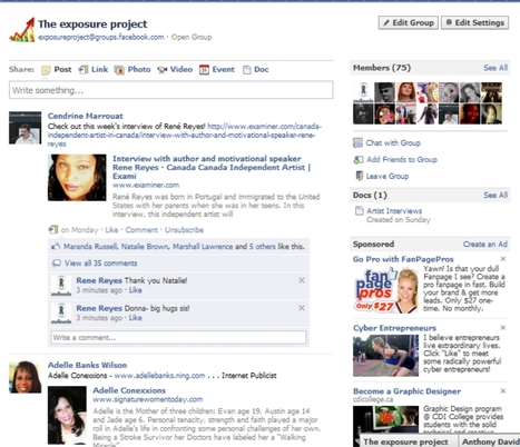 The Exposure Project: Positive networking and promotion | Indie-spensable | Business in a Social Media World | Scoop.it