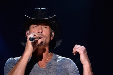 Tim McGraw Admits Faith Hill Makes Him 'Better at Everything' | Country Music Today | Scoop.it