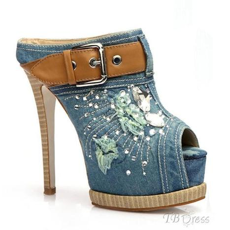 New Arrival Retro Trend Peep-toe Style Women's Prom Shoes | beauty girl | Scoop.it