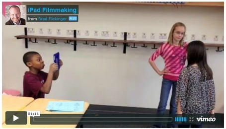 Video: Student filmmaking with iPads | iPads in Education | Scoop.it