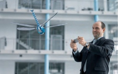 Festo demonstrates BionicOpter dragonfly robot | design & interface | Scoop.it
