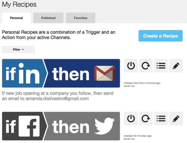10 IFTTT Recipes to Make You a Better Marketer | Social Media News | Scoop.it