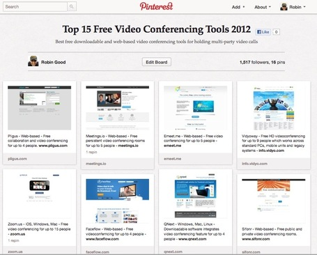 Best 15 Free Video Conferencing Tools 2012 | Moodle and Web 2.0 | Scoop.it
