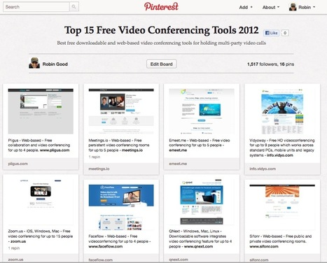 Best 15 Free Video Conferencing Tools 2012 | ICT hints and tips for the EFL classroom | Scoop.it