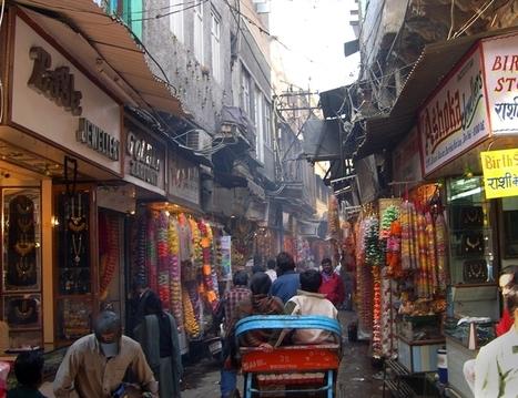 Os Melhores Mercados Locais para se fazer compras em Déli | viagem para india | Scoop.it