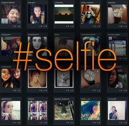 [Tendance] Le #selfie phénomène de l'année 2013 | Médias sociaux & communication | Scoop.it