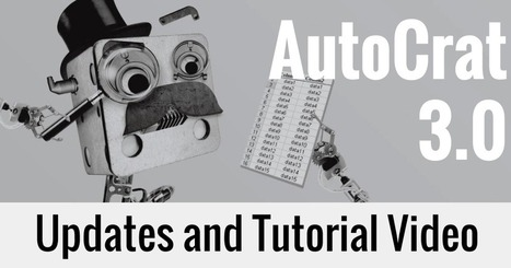 Control Alt Achieve: AutoCrat Version 3.0 Updates and Tutorial Video | Internet Tools for Language Learning | Scoop.it