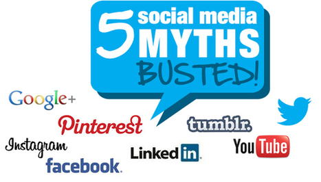 5 Social Media Myths Busted! - Business 2 Community | Comms For Work | Scoop.it