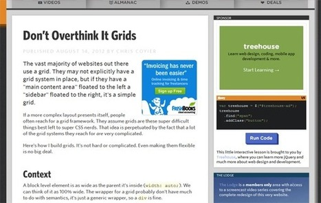 The ins and outs of CSS grids | HTML5 - CSS3 Articles | Scoop.it