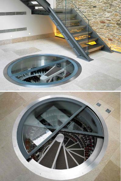 Secret Spirals: Underground Home Wine Cellar Spaces | Urbanist | Love Your (Unstuffy) Wine | Scoop.it