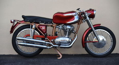 1958 Ducati 200 Elite For Sale | Ductalk Ducati News | Scoop.it