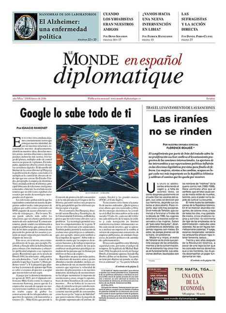 Ramonet: Google sabe todo de ti | LabTIC - Tecnología y Educación | Scoop.it