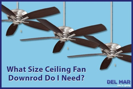 How to Choose the Right Downrod Length | Ceiling Fans | Scoop.it