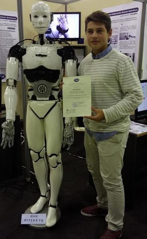 15-Year-Old Becomes Youngest Person to Create Functional Life-Size Humanoid Robot | Oddity Central - Collecting Oddities | Strange days indeed... | Scoop.it