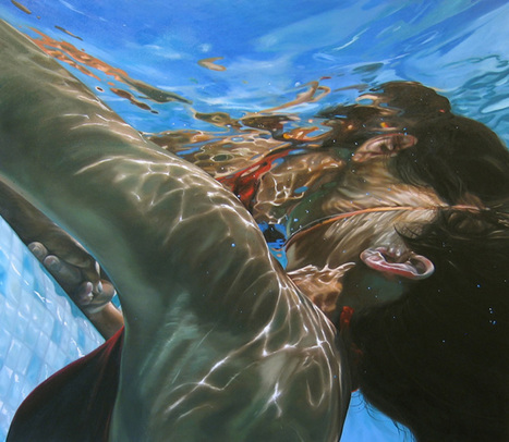 Hypnotic Paintings of Water by Eric Zener | Abduzeedo Design Inspiration & Tutorials | Digital-News on Scoop.it today | Scoop.it