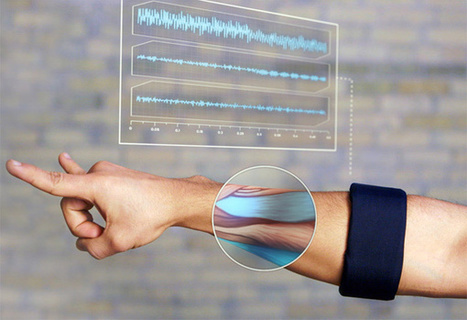 Myo Armband Translates Muscle Movement Into Gesture Control | shubush healthwear | Scoop.it