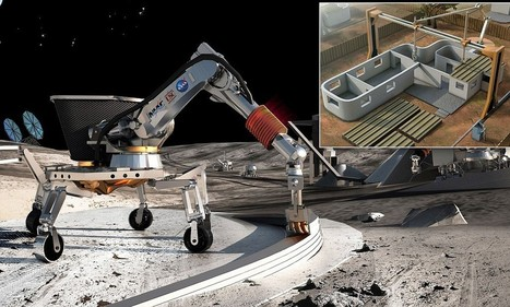 How 3D printing will help colonise the moon | Current Events Friday | Scoop.it