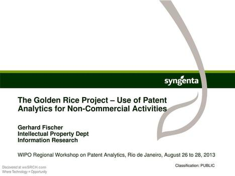 Use of Patent Analytics for Non-Commercial Activities, Business | Life Sciences Commercial Ops | Scoop.it
