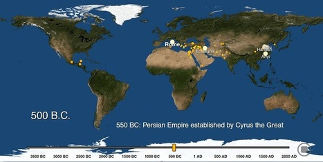 Watch as the world's cities appear one-by-one over 6,000 years   hors sujet   Scoop.it