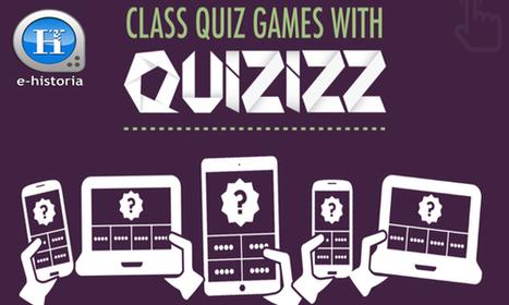 Quizizz - Para Hacer Test Participativos en Línea Desde Computador o Dispositivo Móvil - E-Historia | Tablets na educação | Scoop.it