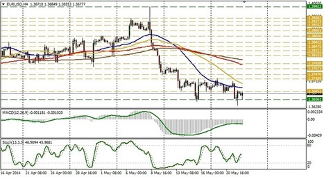 Technical analysis of EUR/USD for May 22 | Forex Learning | Scoop.it