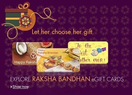 Let Her Choose Her Raksha Bandhan Gift! | DribblingMan | Scoop.it