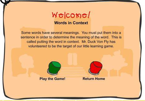 Words in Context | Reading | Scoop.it