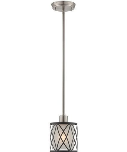 Lite Source Quillon 1-Light Mini Pendant Polished Silver | Home Decors & Lighting | Scoop.it