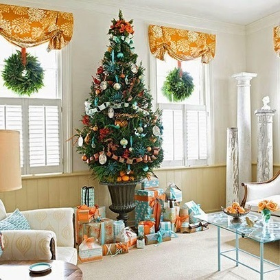 Christmas decorations Ideas for your home and living room | living room design | Scoop.it