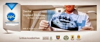Become a Dentist: Dental Implant Diploma @Cairo University With 5 Implants in Patient Mouth!! | SPC | Scoop.it