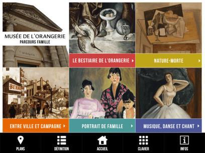 Les musées dans votre iPad : 5 applications en vrac | Social and digital network | Scoop.it