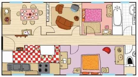 L'appartement (jeu online) | Grup Francès Educació d'Adults | Scoop.it
