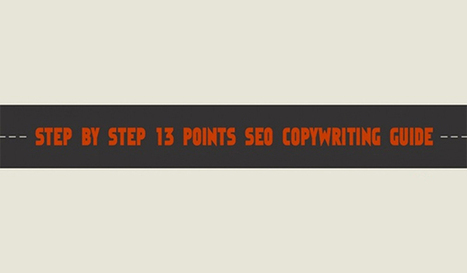 13 Step Copywriting Guide to Create SEO Text Your Customers and Google Will Love | Web design | Scoop.it