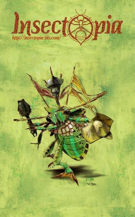 Insectopia le jeu de rôle, à soutenir sur Ulule | Imaginaire et jeux de rôle : news | Scoop.it