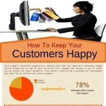 How To Keep Your Customers Happy Infographic | ... | Comercio electrónico y Marketing Online, asesoría e incremento de ventas. | Scoop.it