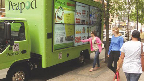 Peapod Hits the Streets with Mobile, Shoppable Billboards | QRCoded | Scoop.it