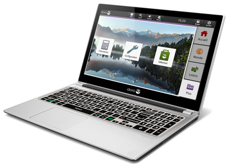 Doro EasyPC : un ordinateur portable simplifié pour séniors et technophobes | Seniors | Scoop.it